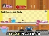 Игра Приготовьте кекс и конфеты - играть бесплатно онлайн