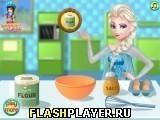 Игра Эльза готовит классический торт - играть бесплатно онлайн