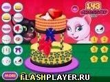 Игра Свадебный торт Тома и Анджелы - играть бесплатно онлайн