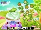 Игра Украшение домика из кекса - играть бесплатно онлайн