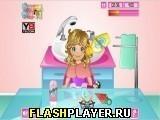 Игра Малышка Эмма ухаживает за волосами - играть бесплатно онлайн