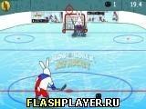 Игра Боб и Бобек – хоккей на льду - играть бесплатно онлайн