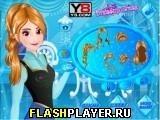 Игра Морозный макияж Анны - играть бесплатно онлайн