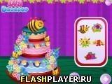 Игра Весенний цветочный торт - играть бесплатно онлайн