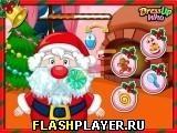 Игра Уход за бородой Санта Клауса - играть бесплатно онлайн
