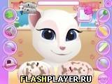 Игра Маникюр маленькой Анжелы - играть бесплатно онлайн