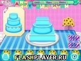 Игра Торт ко дню рождения Анны - играть бесплатно онлайн
