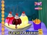 Игра Мороженое с бананом - играть бесплатно онлайн