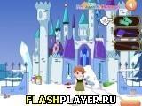 Игра Малышка Анна лепит снеговика - играть бесплатно онлайн
