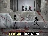 Игра Опыты над стикманом - играть бесплатно онлайн