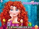 Игра Макияж принцессы Мериды - играть бесплатно онлайн