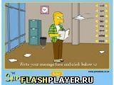 Игра Сделай Симпсона - играть бесплатно онлайн