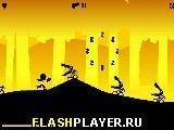 Игра Бег с пушкой - играть бесплатно онлайн
