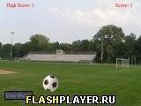 Игра Пните мяч - играть бесплатно онлайн