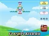 Игра Пузырьковый шутер - набор уровней 2 - играть бесплатно онлайн