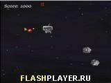 Игра Робот и астероиды - играть бесплатно онлайн