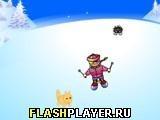 Игра Лыжный чемпион - играть бесплатно онлайн