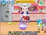 Игра Торт-мороженое малышки Лизи - играть бесплатно онлайн