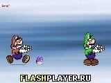Игра Марио против Луиджи - играть бесплатно онлайн