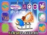 Игра Зимняя поездка на санках - играть бесплатно онлайн