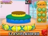 Игра Торт на день рождения Олафа - играть бесплатно онлайн