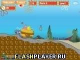 Игра Пропавший рецепт Губки Боба - играть бесплатно онлайн