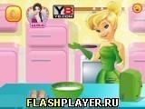 Игра Тинкербелл готовит феерический торт - играть бесплатно онлайн