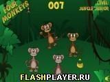 Игра Четыре обезьяны - играть бесплатно онлайн