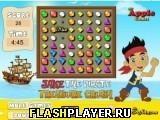 Игра Сокровища пирата Джейка - играть бесплатно онлайн
