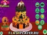 Игра Жуткий кремовый торт на Хэллоуин - играть бесплатно онлайн