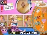 Игра Анна играет с маленькой Эльзой - играть бесплатно онлайн