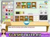 Игра Вкусные рецепты Дженни – синий бархатный торт - играть бесплатно онлайн