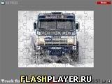 Игра КАМАЗ в снегу - играть бесплатно онлайн