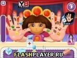 Игра Даша лечит руки - играть бесплатно онлайн