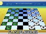 Игра Шашки с Коалой - играть бесплатно онлайн