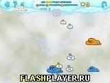 Игра Облачная война – Снегопад - играть бесплатно онлайн