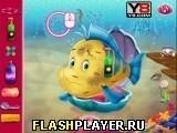 Игра Маленькая Ариэль заботится о Фландере - играть бесплатно онлайн