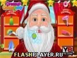 Игра Расчёсываем Санту - играть бесплатно онлайн