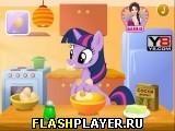 Игра Пони готовит торт - играть бесплатно онлайн