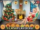 Игра Семья Барби готовится к Рождеству - играть бесплатно онлайн