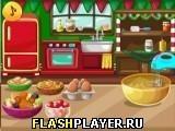 Игра Рождественский торт - играть бесплатно онлайн