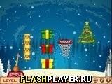 Игра Новогодний баскетбол - играть бесплатно онлайн