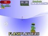 Игра Сноуборд Гекко - играть бесплатно онлайн
