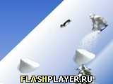 Игра Yetisports 7 – Свободная поездка на сноуборде - играть бесплатно онлайн