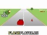 Игра Гонки На Красном Авто - играть бесплатно онлайн