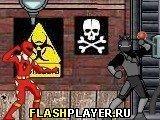 Игра Пауэр-рейнджерс: Опасное спасение - играть бесплатно онлайн