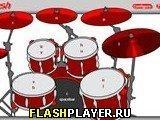 Игра Барабанная установка - играть бесплатно онлайн