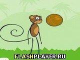 Игра Бросок мартышки - играть бесплатно онлайн