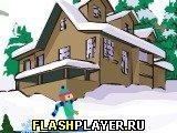 Игра Лыжная битва - играть бесплатно онлайн