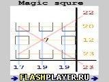 Игра Магический квадрат - играть бесплатно онлайн